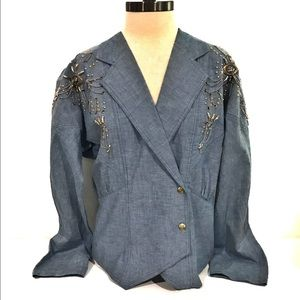 Vintage 80s Style Oversized Blazer by Royal Ransom